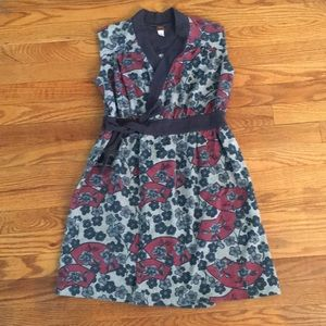 Tea collection wrap dress